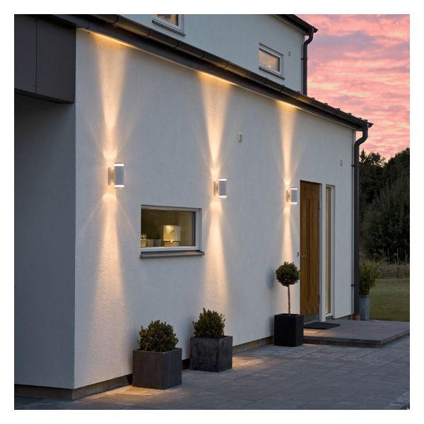 Eclairage automatique et d tecteur d router les cambrioleurs for Eclairage maison exterieur