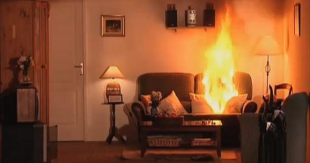 Feu domestique comment r agir for Alarme feu maison