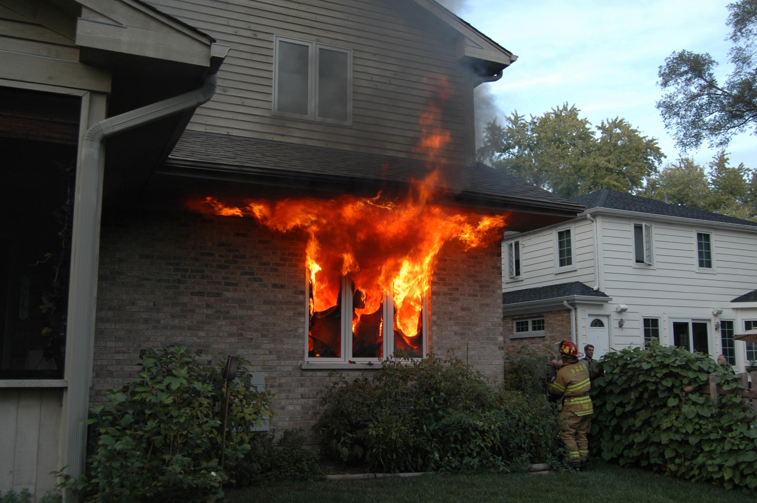 Pr vention incendie un m mo pour toute la famille for Assurance incendie maison