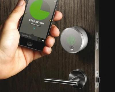 smartphone ouverture de maison