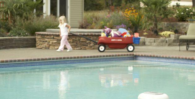 alarme pour la sécurité de la piscine