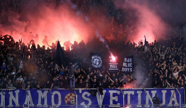Plus De 100 Supporters Du Dinamo Zagreb Arr 234 T 233 S 224 Paris