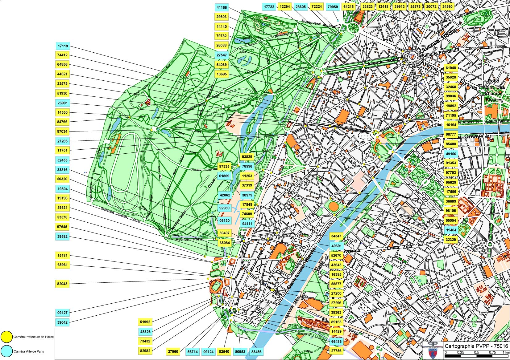La Carte D 233 Taill 233 E Des Cam 233 Ras De Vid 233 O Protection 224 Paris