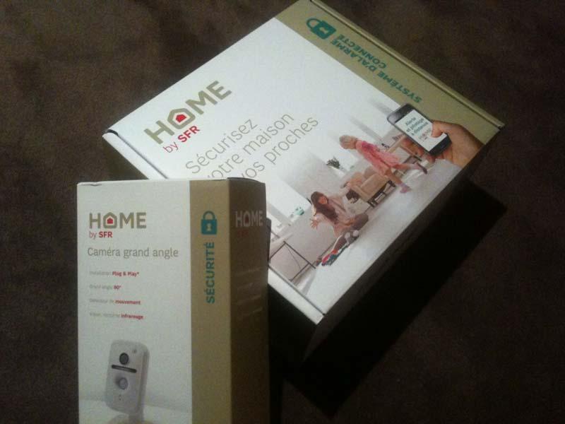 alarme sfr on a test home by sfr pour vous. Black Bedroom Furniture Sets. Home Design Ideas