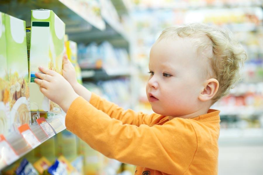Enfant Et Magasin De Bricolage Attention Aux Accidents