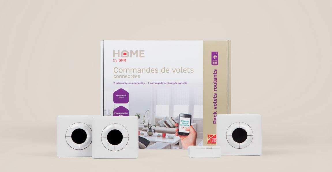 home by sfr l 39 alarme internet devient une box domotique. Black Bedroom Furniture Sets. Home Design Ideas