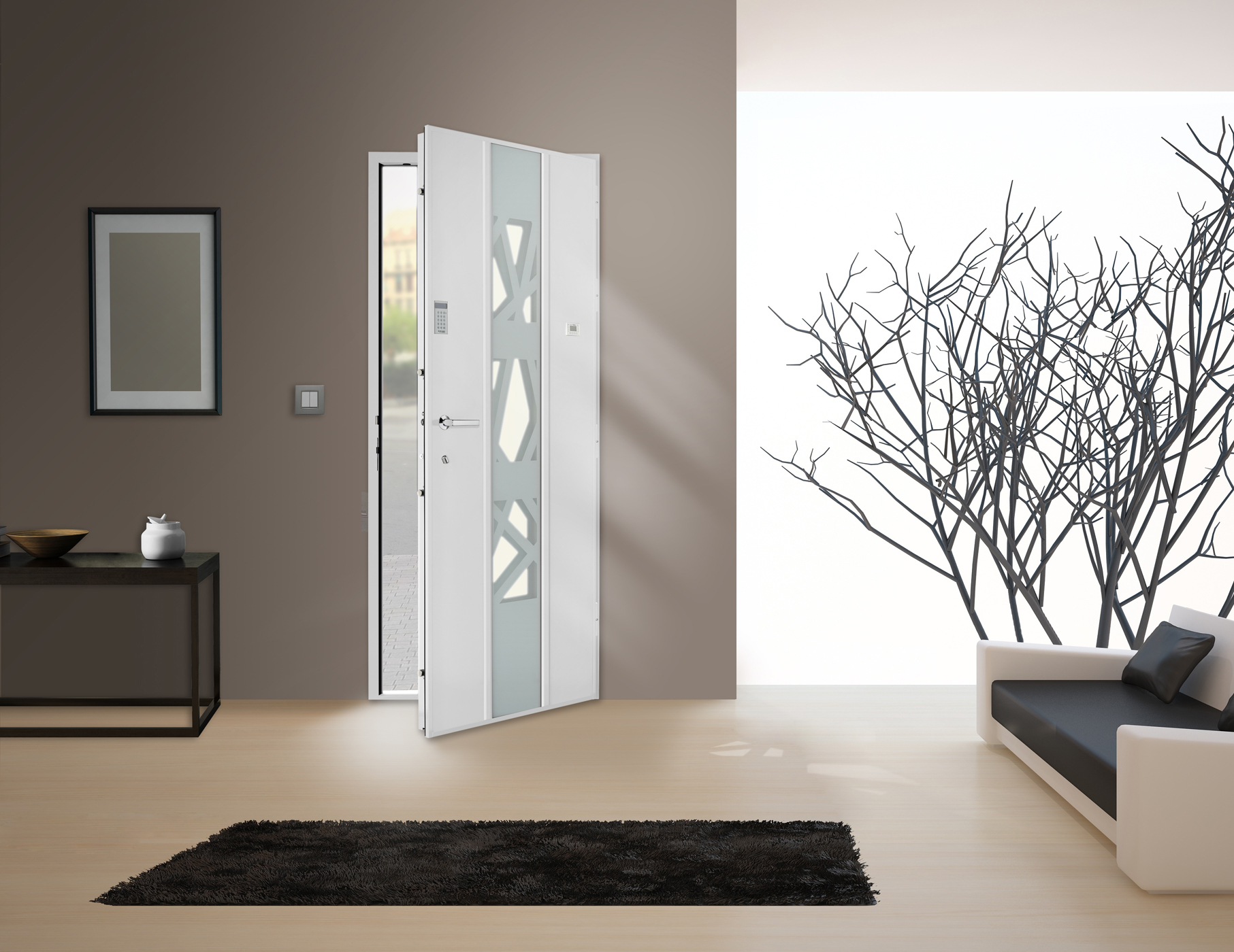 Le blog belmon d co d corer une porte blind e - Decoration pour portes interieures ...