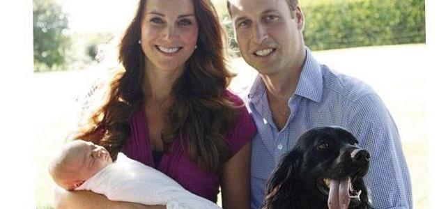 La sécurité du bébé royal mise en question par la présence d'un chien.