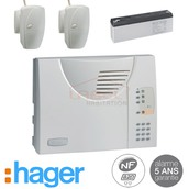 Hager SK318-22F, alarme Hager SK318-22F, Hager SK318-22F mysecurite