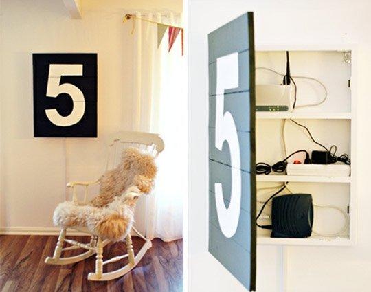cachette armoire