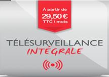Offre Télésurveillance Intégrale - Sepsad Protection Vol