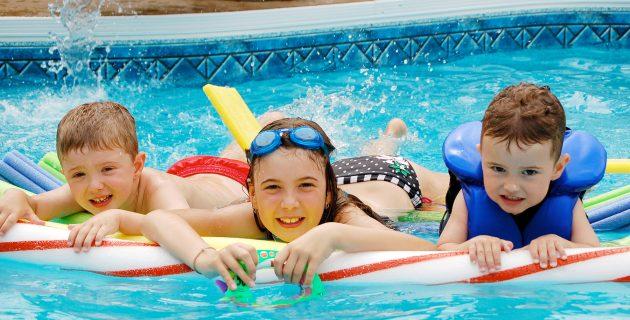 sécurité de la piscine et protection des enfants