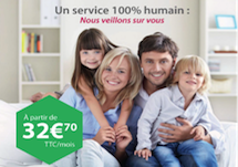 Pack Télésurveillance Premium - Protection 24